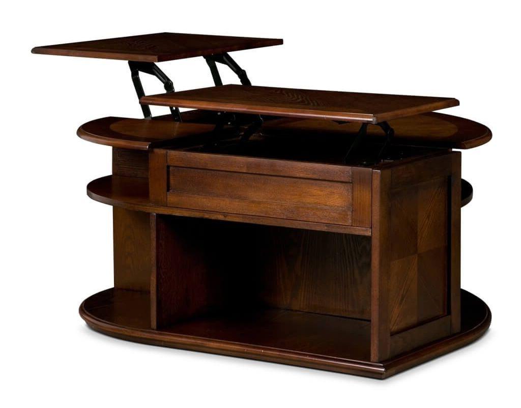 daytona double lift top coffee table