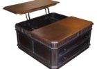 double lift top coffee table with storage