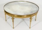 gold coffee table tray mirrored