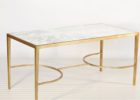 gold coffee table tray mirrored decor
