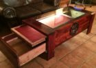 gun hidden compartment coffee table plans