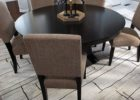 how to measure area rug under dining table