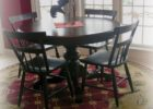 how to size area rug under dining table