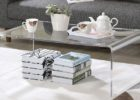 large square acrylic coffee table
