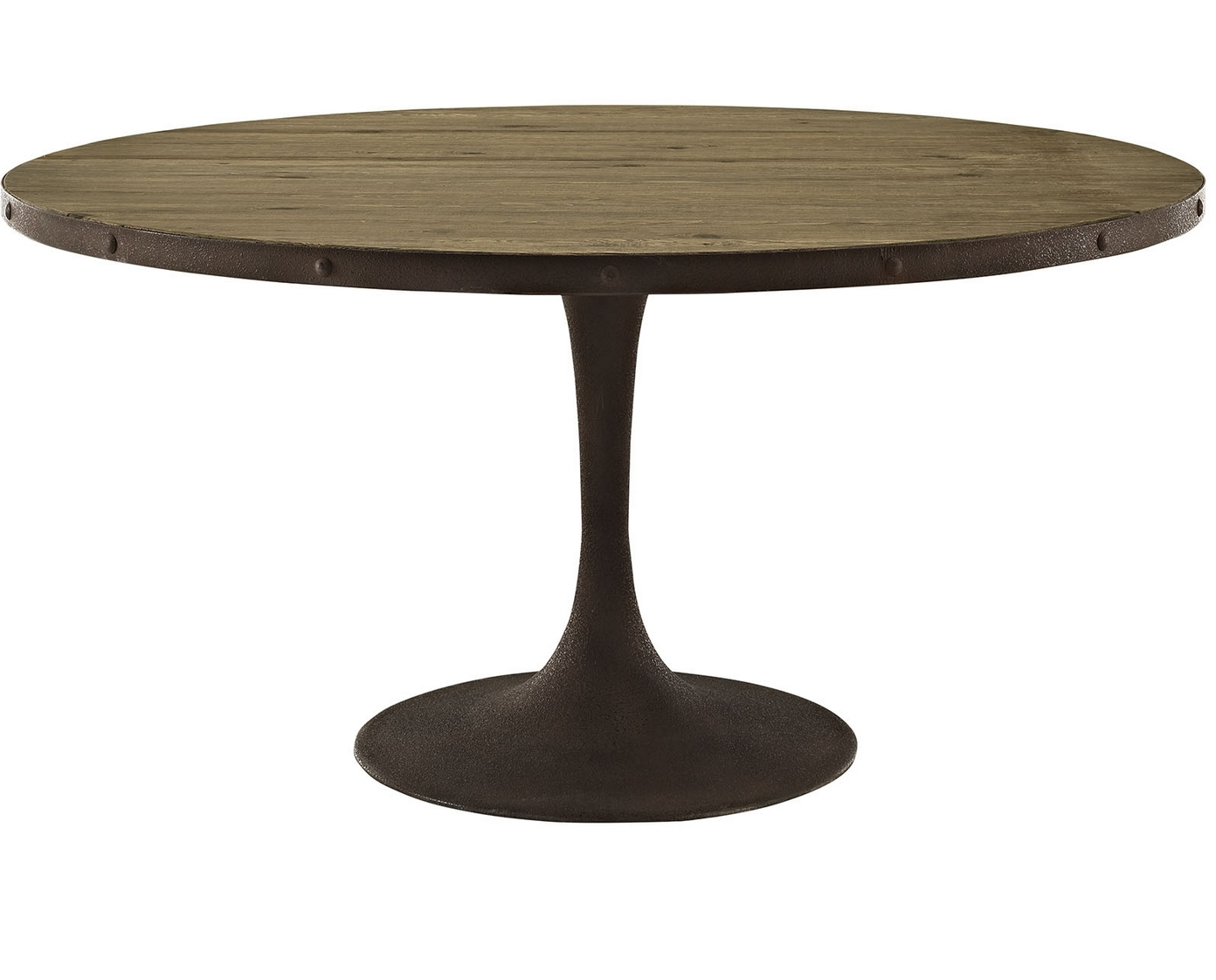 Leaf 60 Inch Round Pedestal Dining Table Raysa House