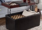 leather black lift top coffee tables with storage