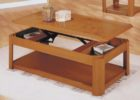 lift top hidden compartment coffee table