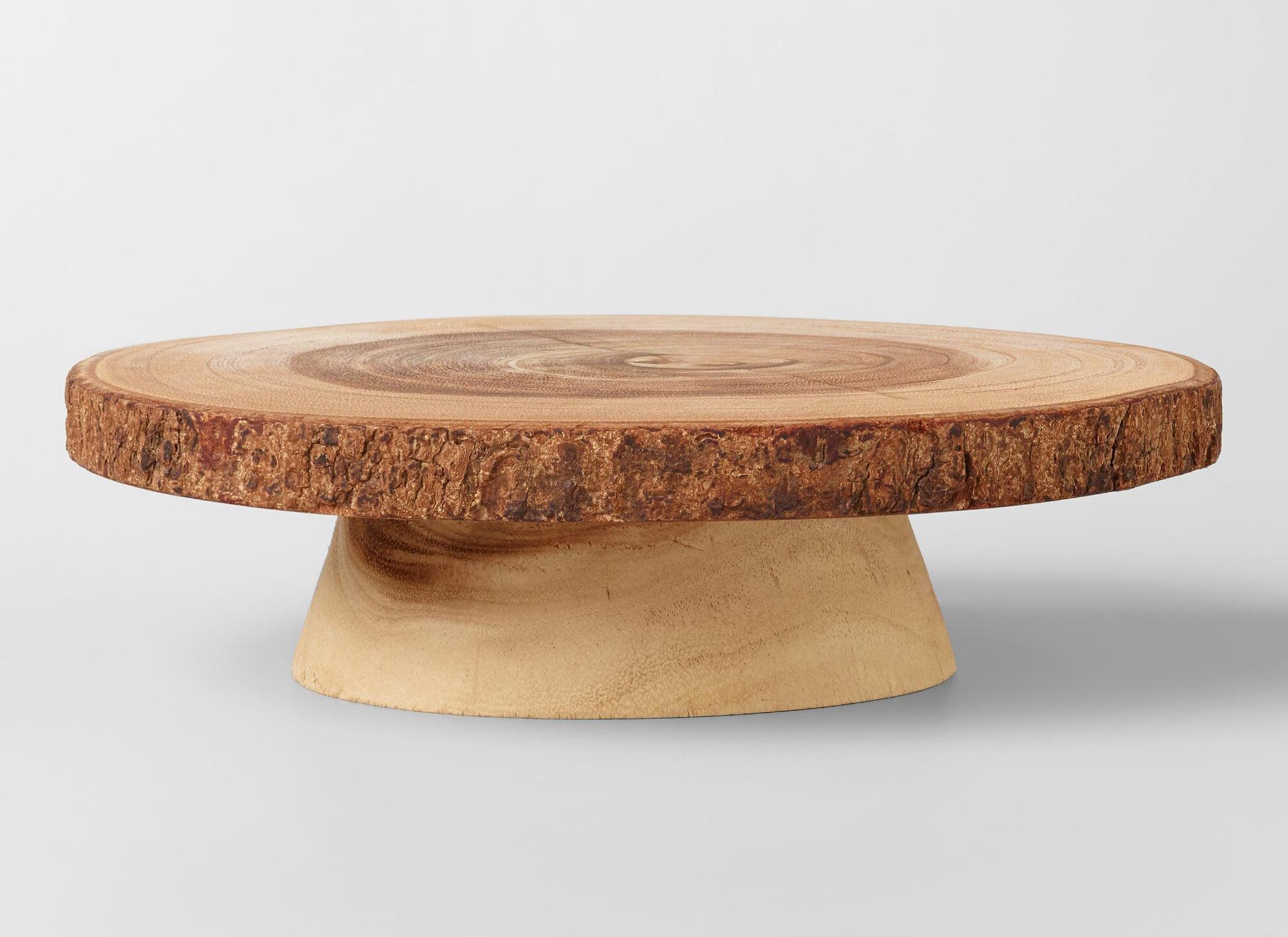 log wood coffee tables under $50