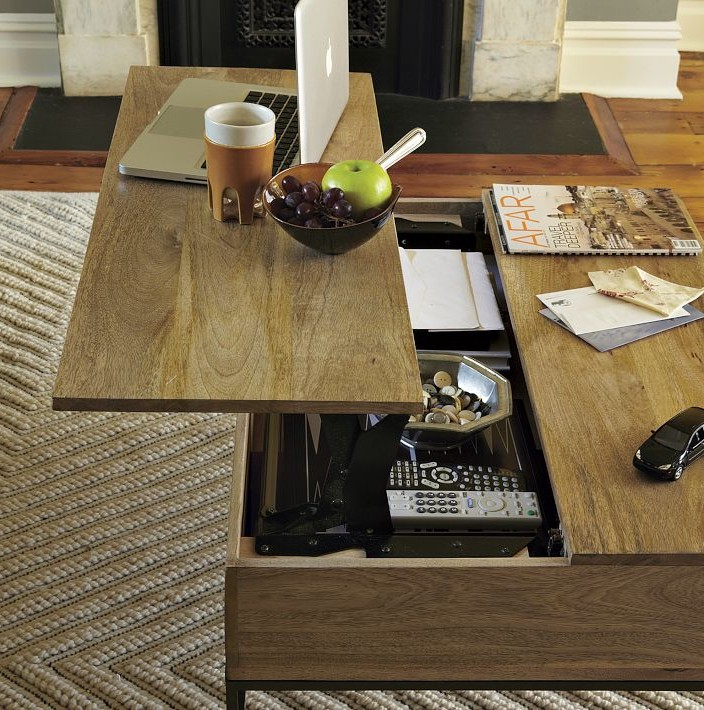 madera lift top coffee tables with storage