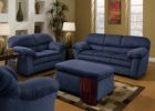 navy blue coffee table sets with storage