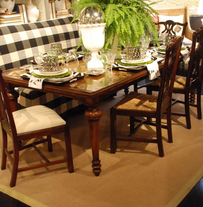 Area Rug Under Dining Table Ideas