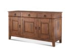 oak wood buffet tables for dining room