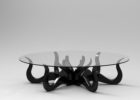octopus coffee table black