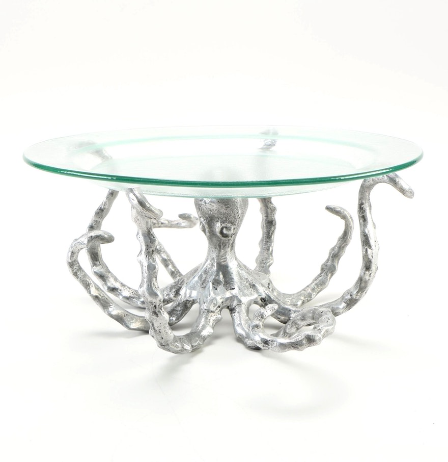 octopus coffee table with glass on top ideas