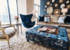 ottoman navy blue coffee table