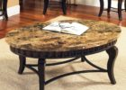 oval coffee table sets contemporary