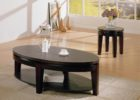 oval coffee table sets decor