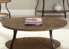 oval coffee table sets reclaimed wood