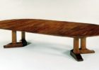 oval dining table pedestal base