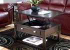 pull up coffee table storage