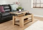 pull up coffee table tray