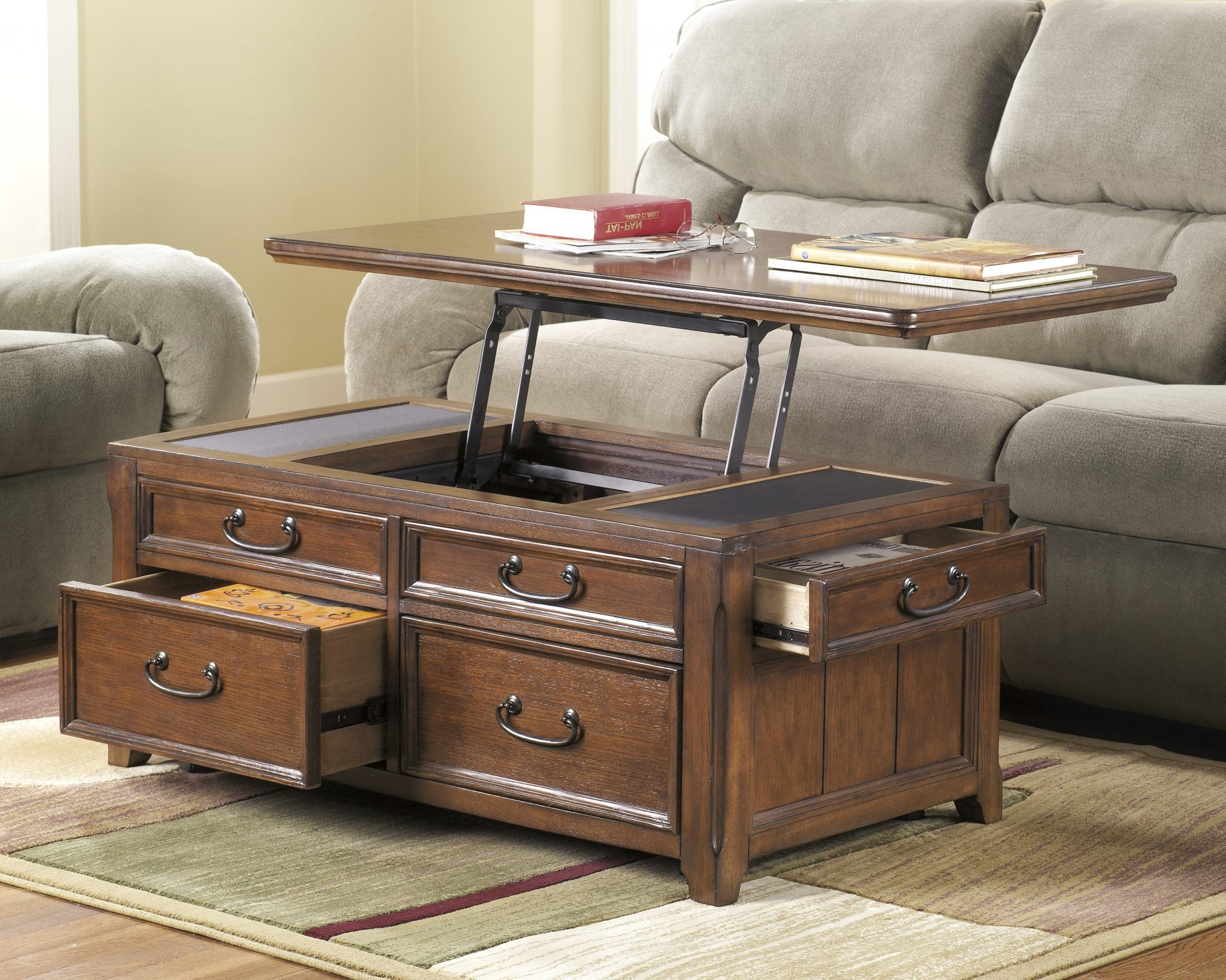 pull up coffee table uk