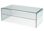 rectangular square acrylic coffee table