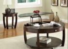 round espresso lift top coffee tables with storage
