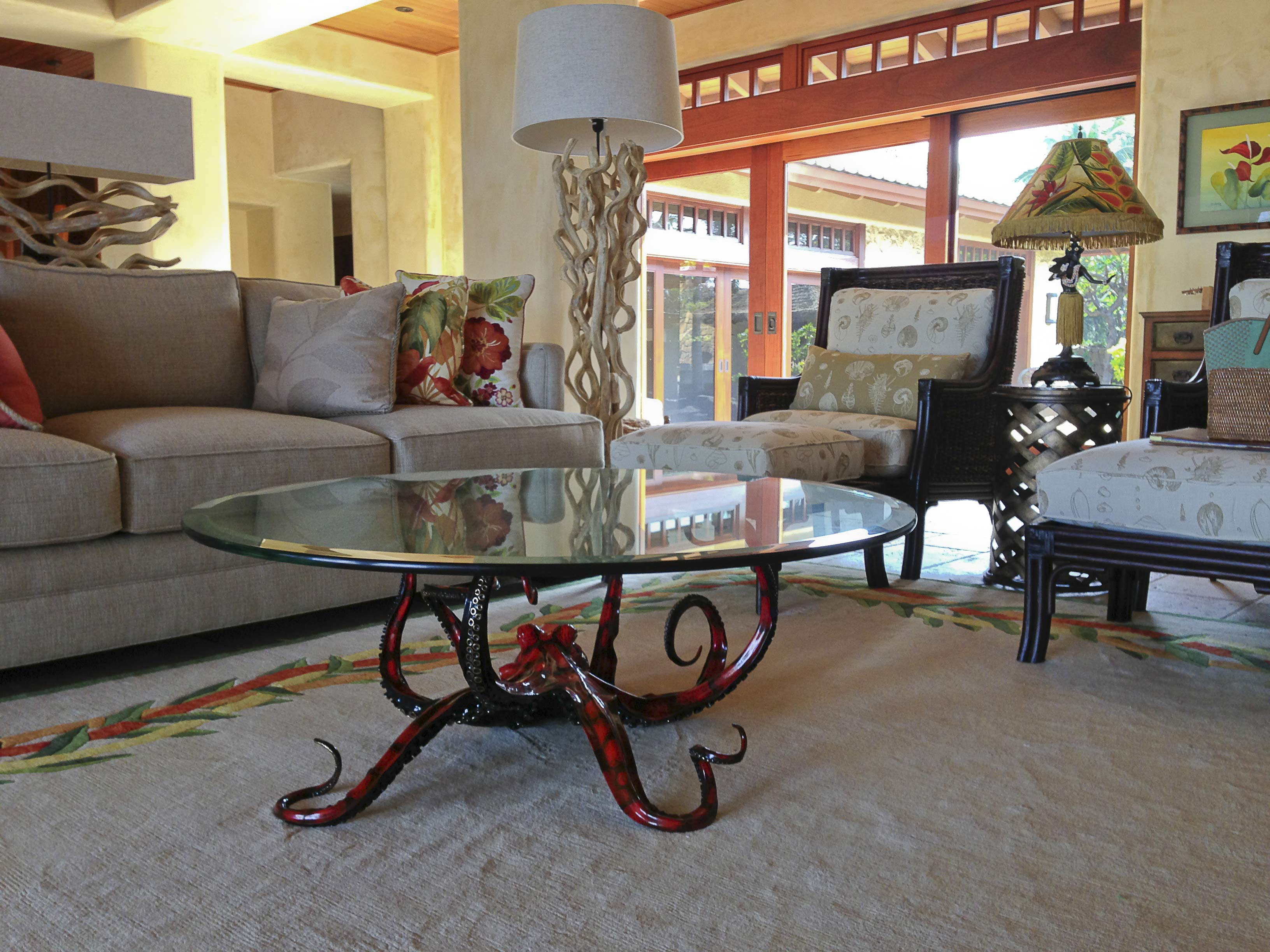 round octopus coffee table | raysa house
