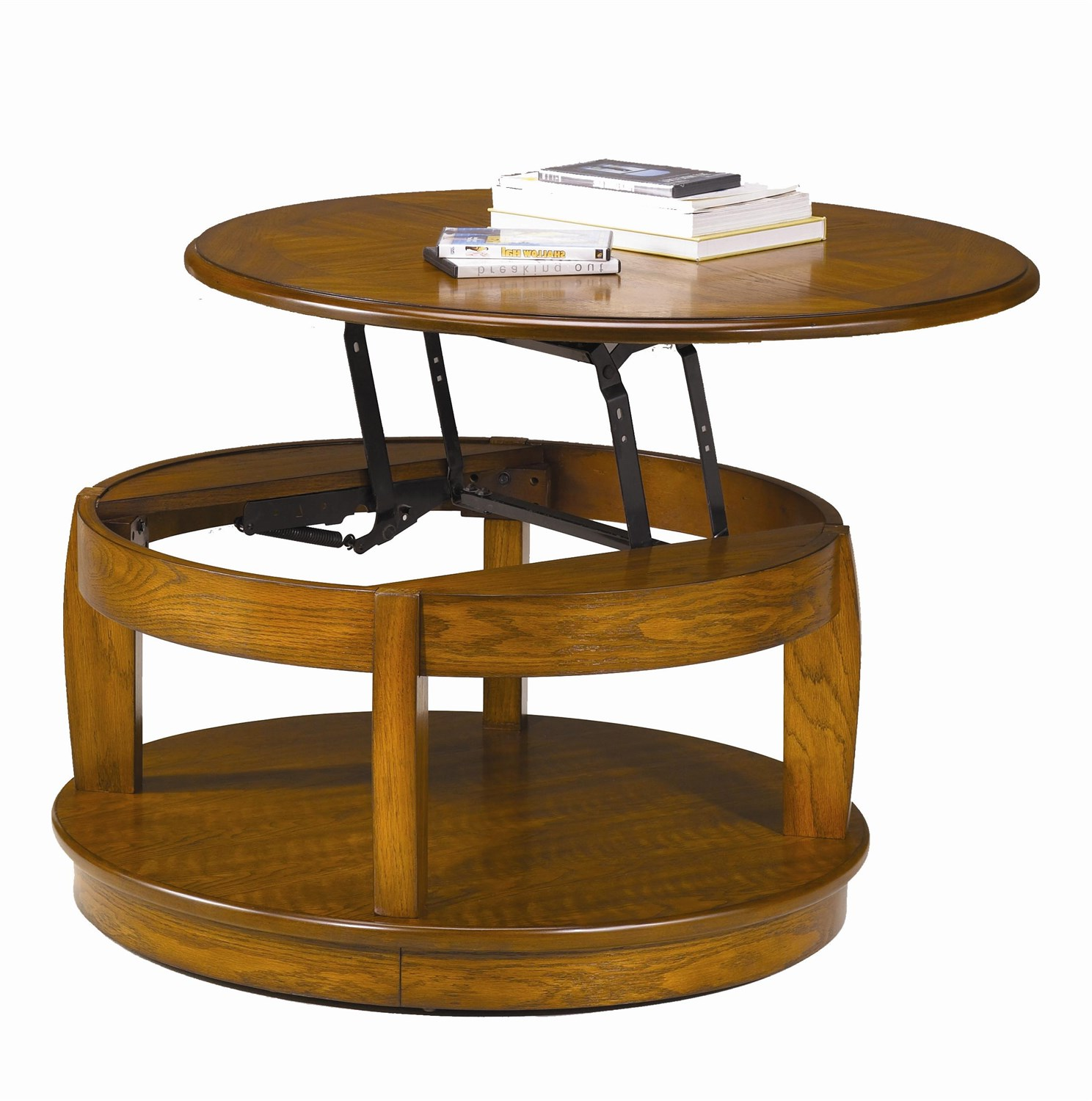 small round coffee tables that lift