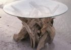small round glass driftwood coffee tables for sale uk