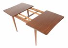 small square butterfly leaf dining table set