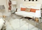 square acrylic coffee table large