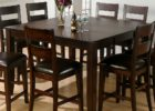 square wood butterfly leaf dining table set