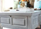 square wood grey wash coffee table