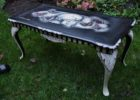 sugar skull coffee table