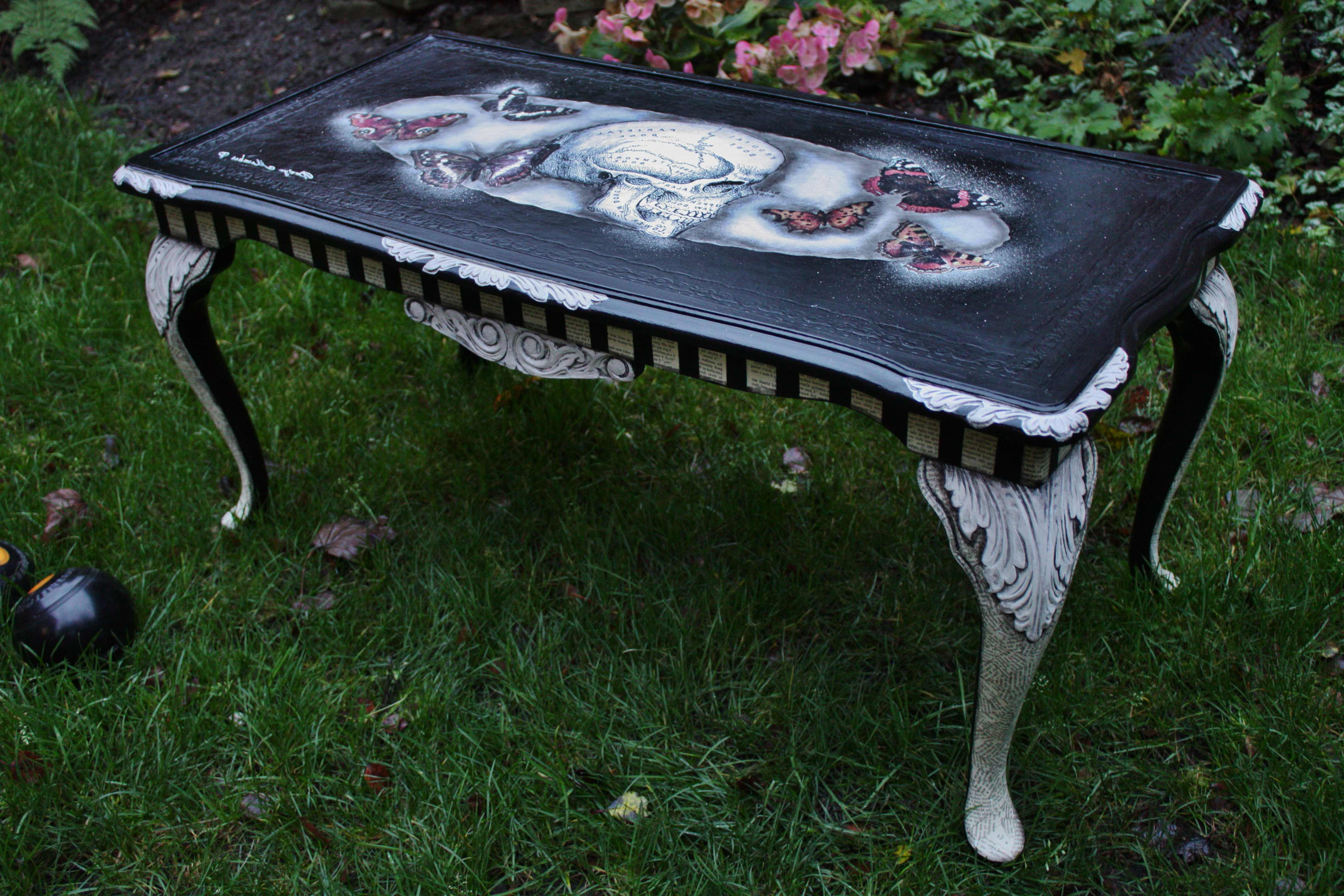 Sugar Skull Coffee Table Raysa House