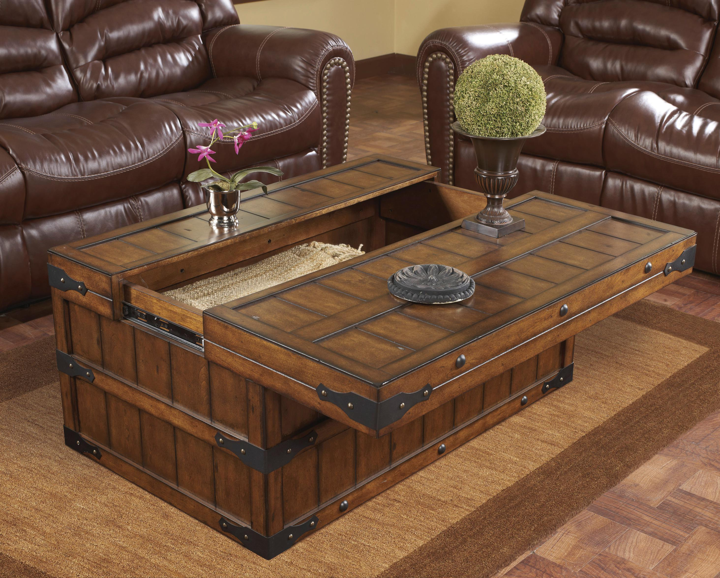 trunk coffee table target lift top