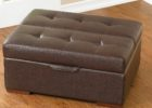 tufted cushion coffee table with storage