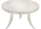 white 30 inch round coffee table collection
