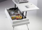 white coffee tables that lift up