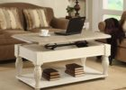 white lift top coffee tables with storage