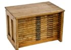 wood flat file coffee table