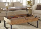 wooden coffee tables that lift up