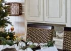 accent rustic dining table centerpieces