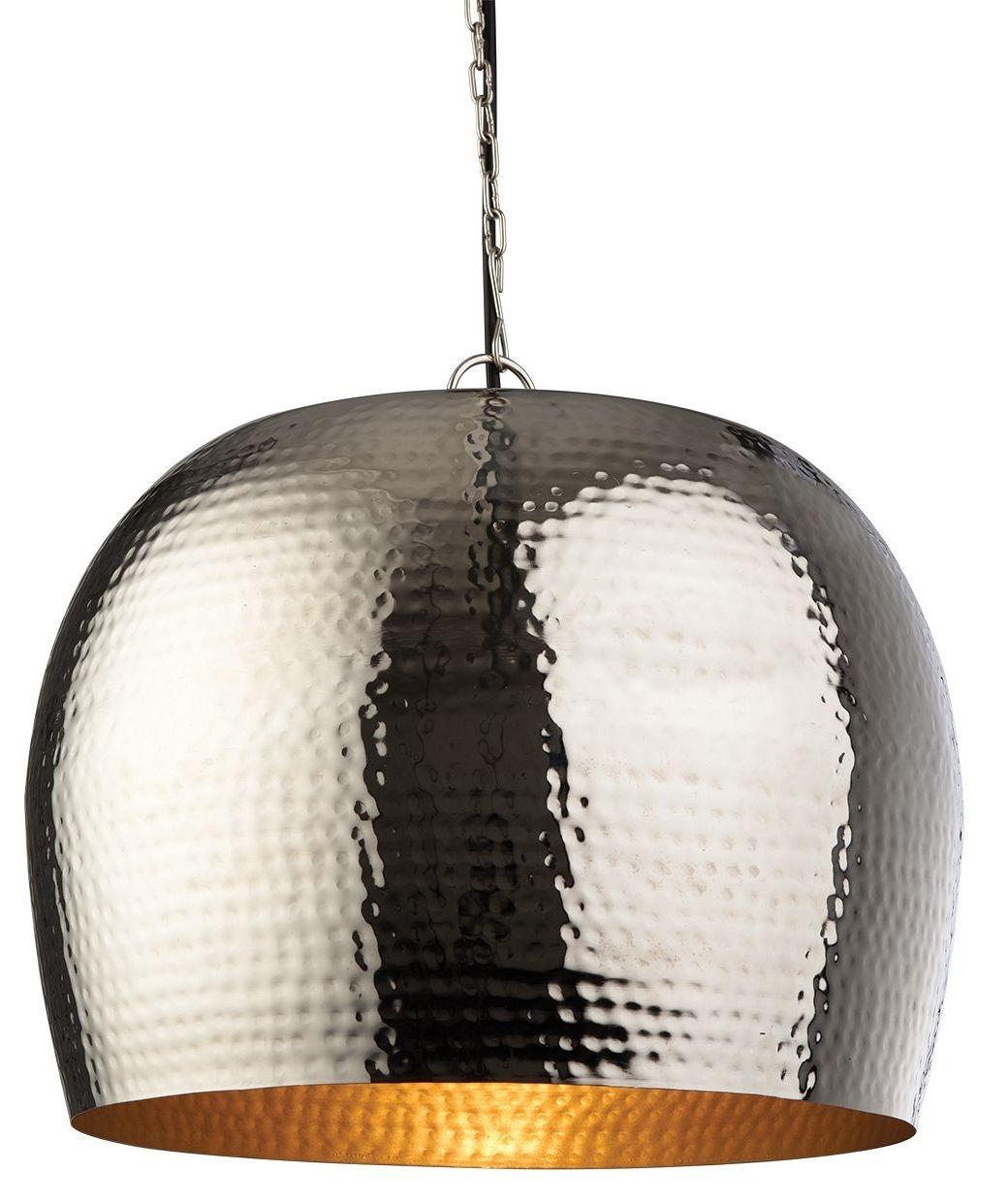 awesome hammered metal pendant light uk