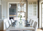 awesome white wash dining room table