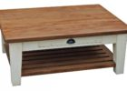 barn wood coffee table for sale with drawer