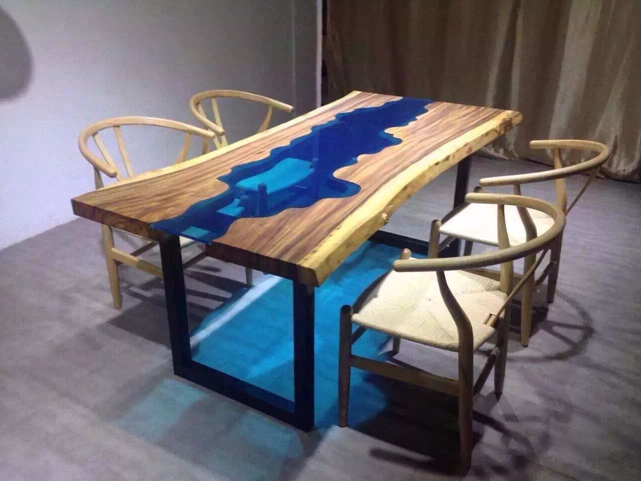 beautiful live edge dining table for sale