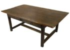 beautiful rustic cherry wood coffee table with drawers